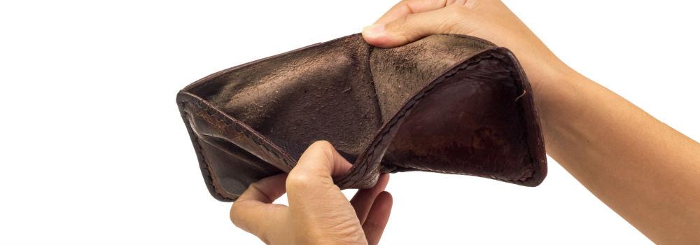 ingen penge